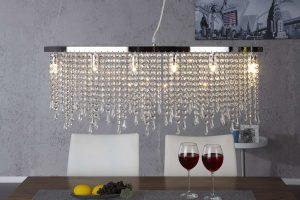 Lampa Festive, svietidlo, moderná jedáleň