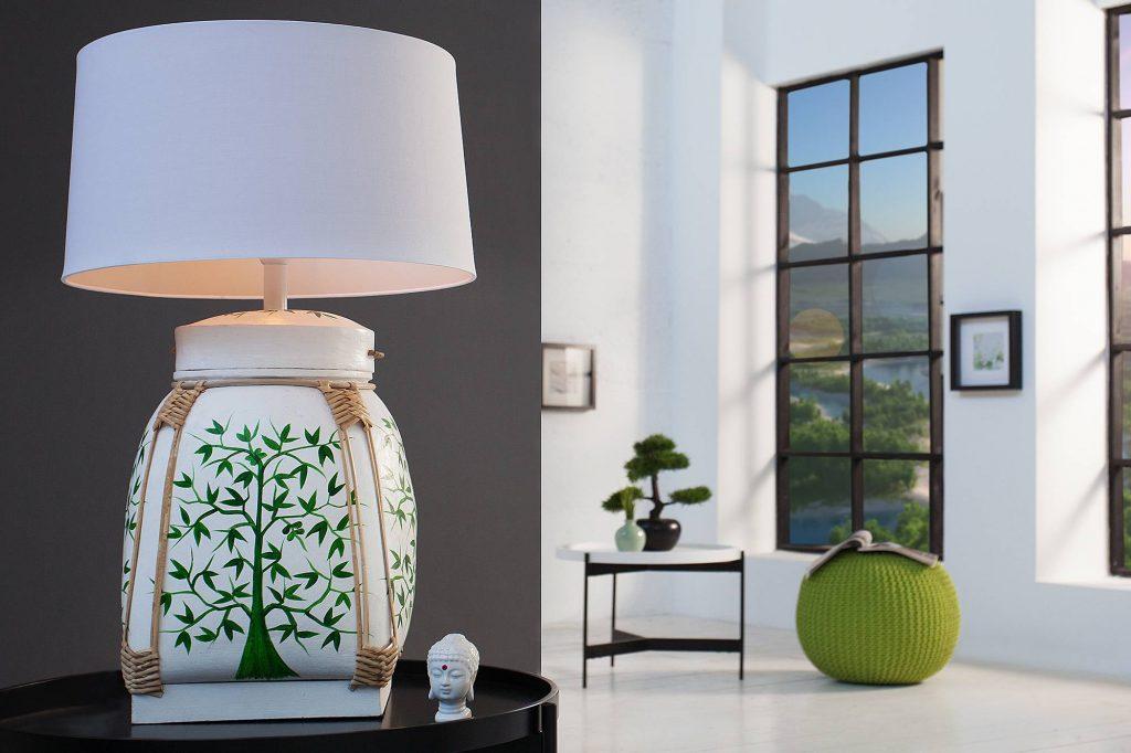 Stolná lampa Alyse