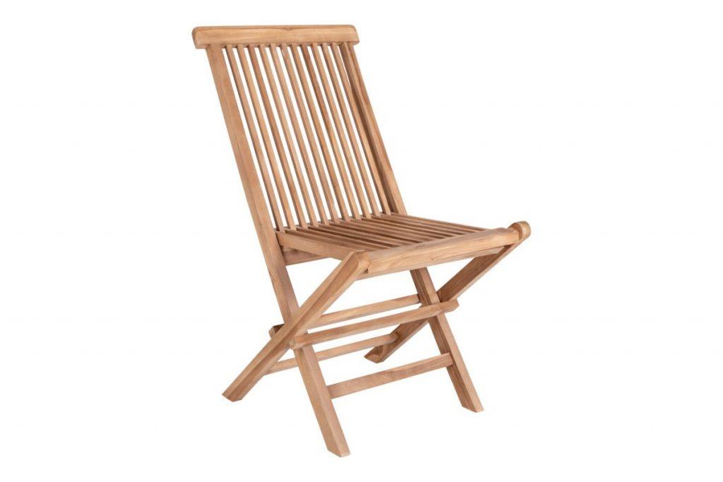 Záhradný jedálenská stolička Lana, teak