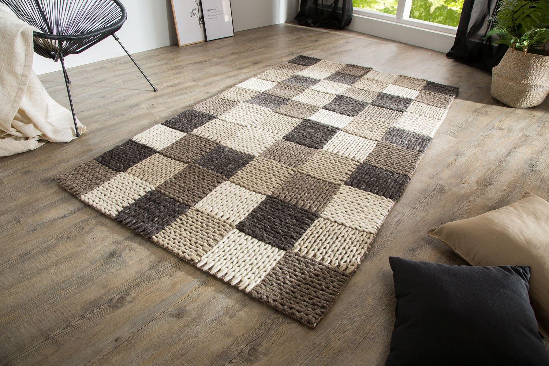Dizajnový koberec Rebecca, obývačka sa zútulní