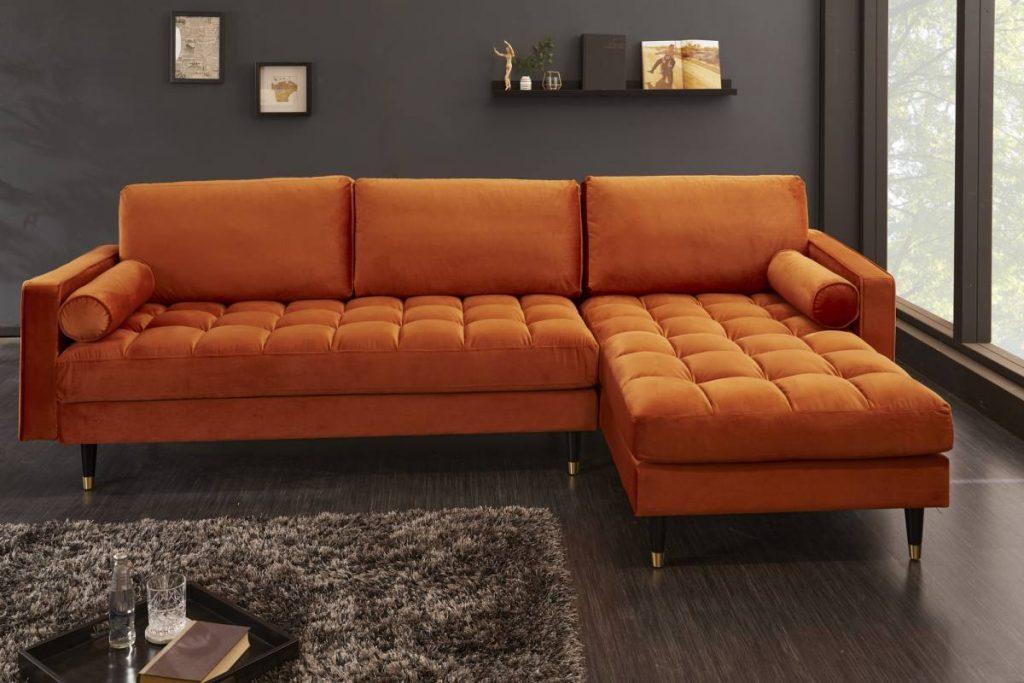 Dizajnová rohová sedačka Adan - ako usporiadať nábytok