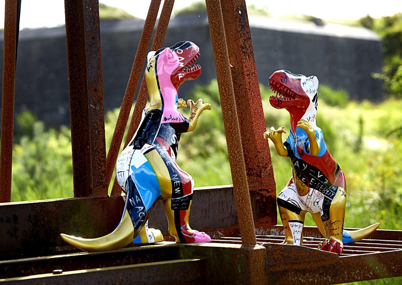 Dekoračná socha Animal / dinosaurus