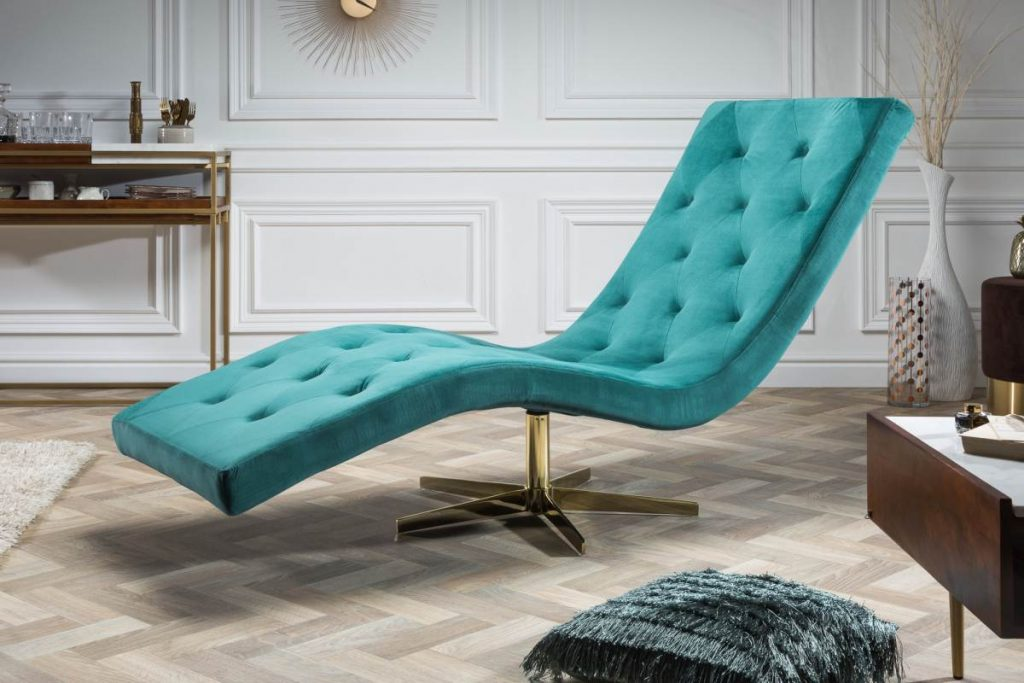 Dizajér radí vybrať vibrujúce farby ako Luxusné relaxačné kreslo Rest tyrkysové