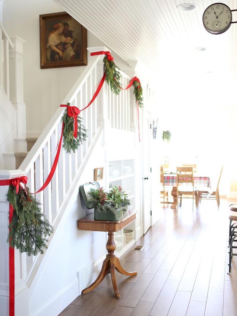 Vianočné schodisko Zdroj: DigsDigs