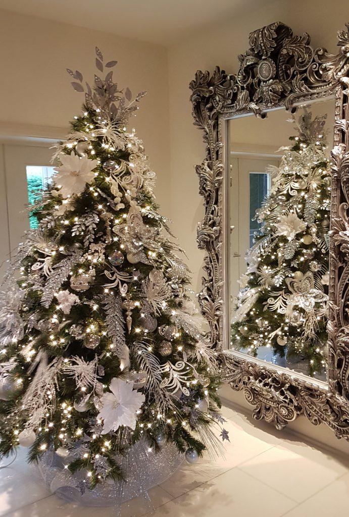 Zrkadlá a sviatočné dekorácie