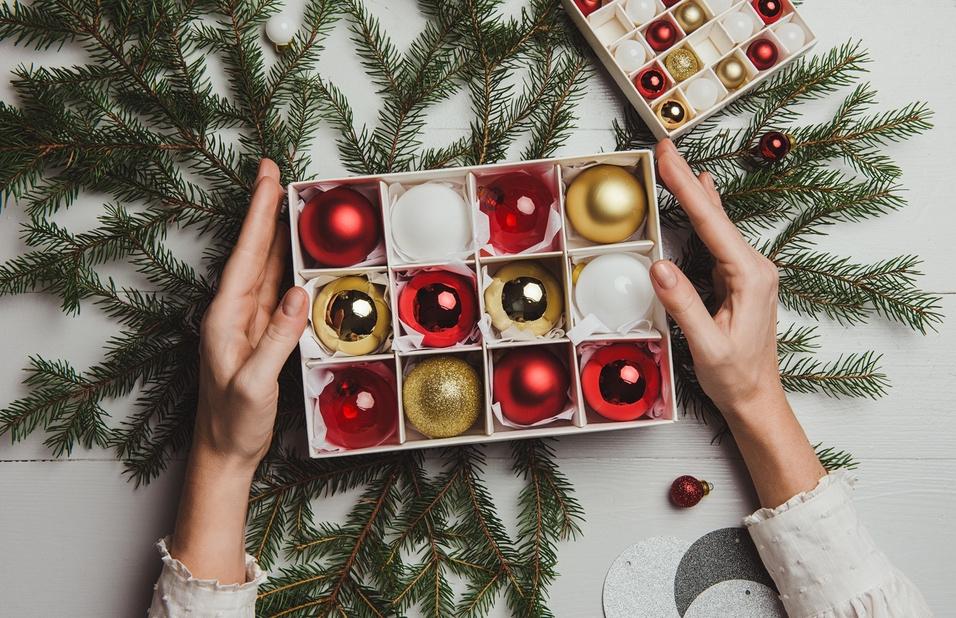 Ako Uskladniť Vianočné Dekorácie