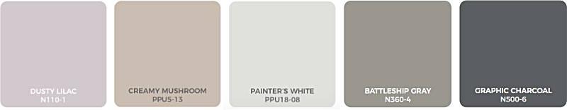 Zdroj: Behr, paleta farebných odtieňov