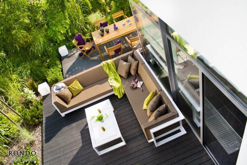 Záhradný stolík Toscania, záhradný set