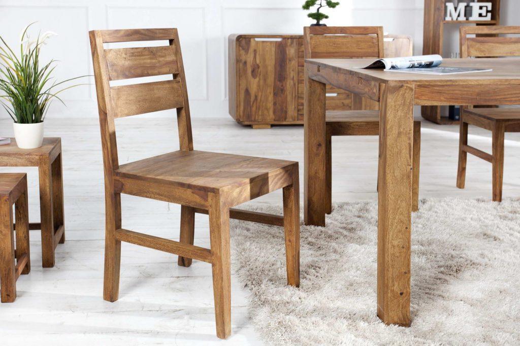 Dřevěné židle - 2 typy, které známe
