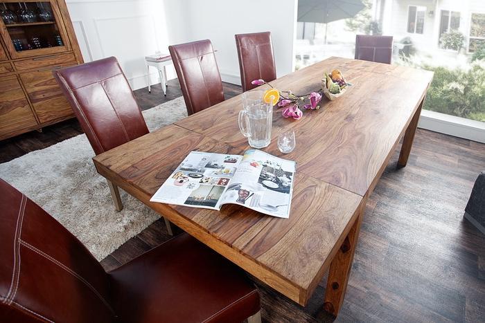 Rozkladací jedálenský stôl - práca s priestorom